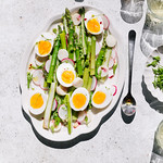 asparagus and eggs salad
