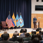 Fri, 03/29/2019 - 14:01 - On Friday, March 29, 2019, the William J. Perry Center for Hemispheric Defense Studies hosted a graduation ceremony for two courses: 'Strategic Implications of Human Rights and Rule of Law' and 'Combating Transnational Threat Networks.' Students from all over the Americas attended the courses from March 18-29, 2019. The graduation ceremony and reception took place in Lincoln Hall at the National Defense University's North Campus at Fort McNair in Washington, DC.