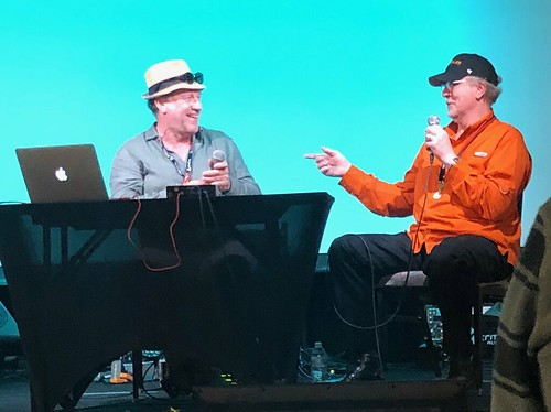 "Harold Faltermeyer on ""Axel F—History of a Synthesizer SMASH"" in conversation with Michael Lehmann Boddicker at Synthplex 2019 
