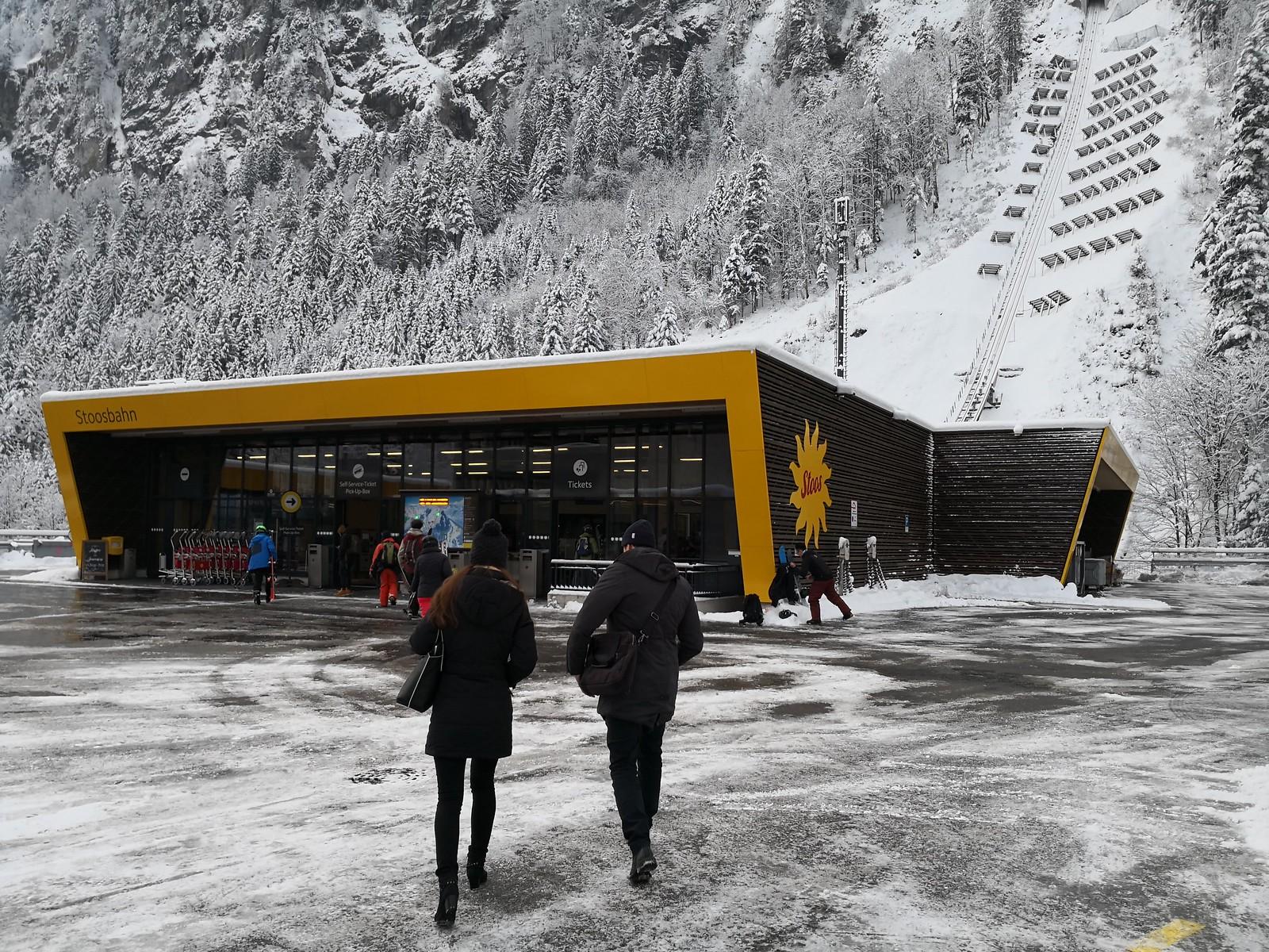 Stoosbahn Funicular Station