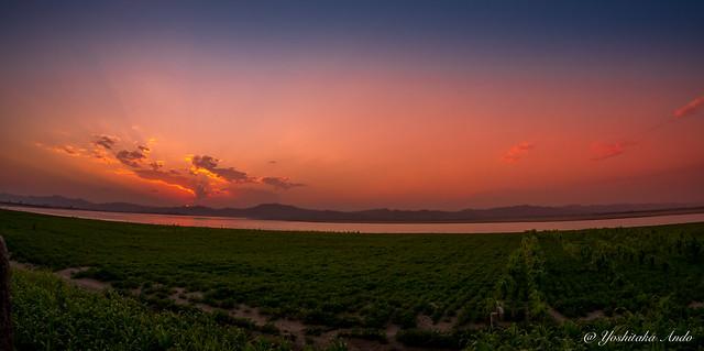 Ayeyarwady Sunset Bagan