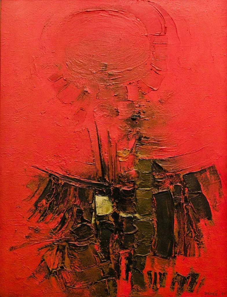 The Battle (1965) - Luís Demée (1929 - 2001)