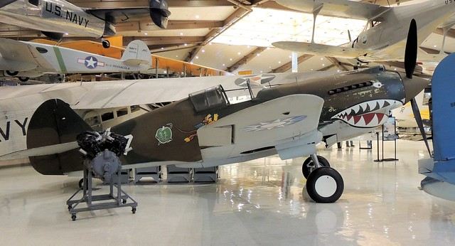 P-40B TOMAHAWK IN COLORS OF THE AVG