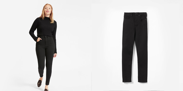 everlane Authentic Stretch High Waist Skinny