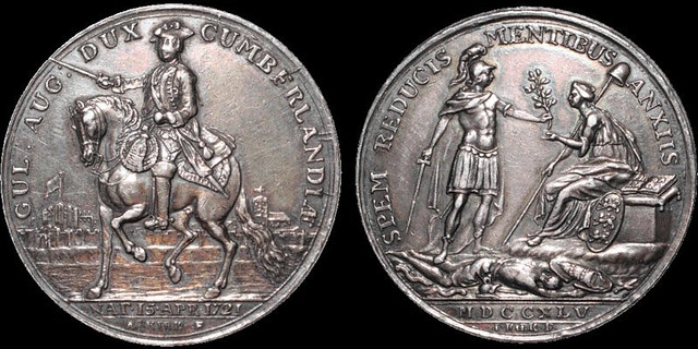 Jacobite Rebellion Carlisle Recaptured medal