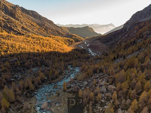 valdimello predarossa mountains yellow river drone dronephotography nature naturephotography sunset