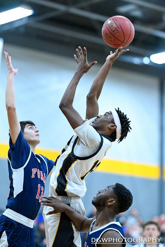 Jonathan Law vs. Foran High - High School Basketball