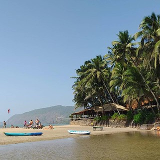 Good to be back! #goa #colabeach #india #beach | by Scalino