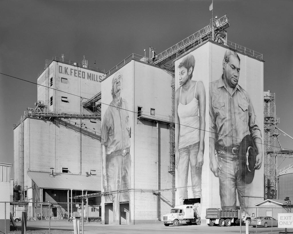 O.K. Feed Mills Murals
