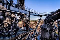 Fête Des Hauts Fourneaux - Views from the Esch-Belval 'B' blast furnace