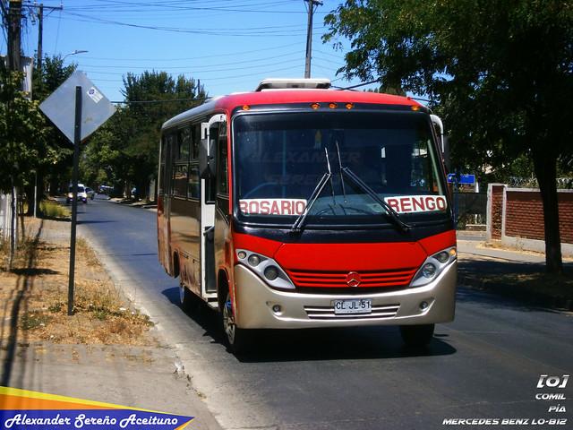 Servibus: Comil Piá - Mercedes Benz LO-812 (CLJL51).