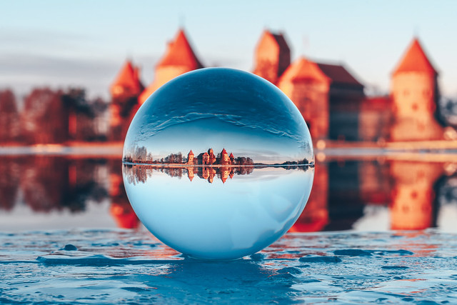 Trakai Island Castle | #GlassBall Project #65/365