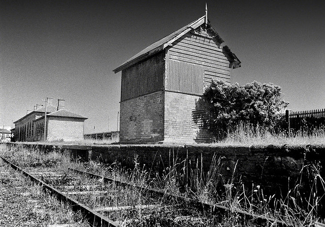 Abandoned Station, Youghal, Co Cork, Ireland.