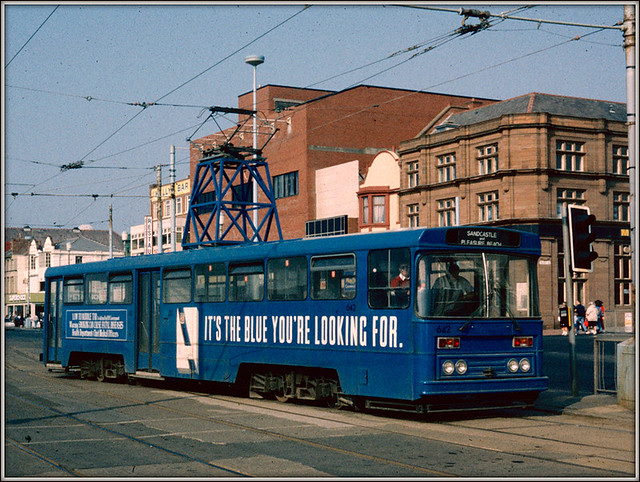 Blackpool Centenary car 642