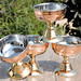 Copper and Stainless Steel Dessert Bowl Set
