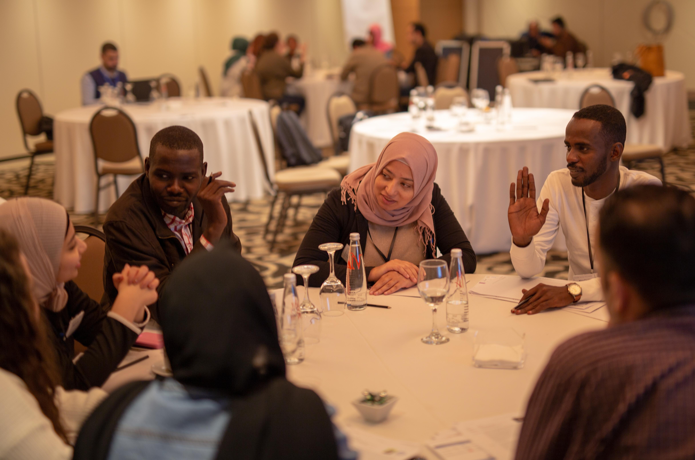 Gender Innovation Agora team at the Youth Leadership Program