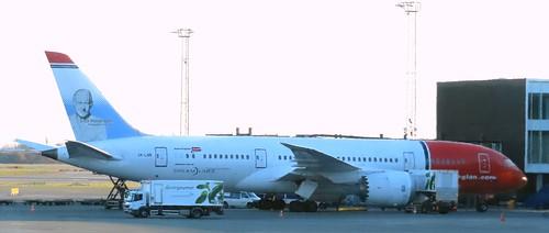 LN-LNB Boeing 787 Dreamliner Norwegian CPH 280319   by kitmasterbloke