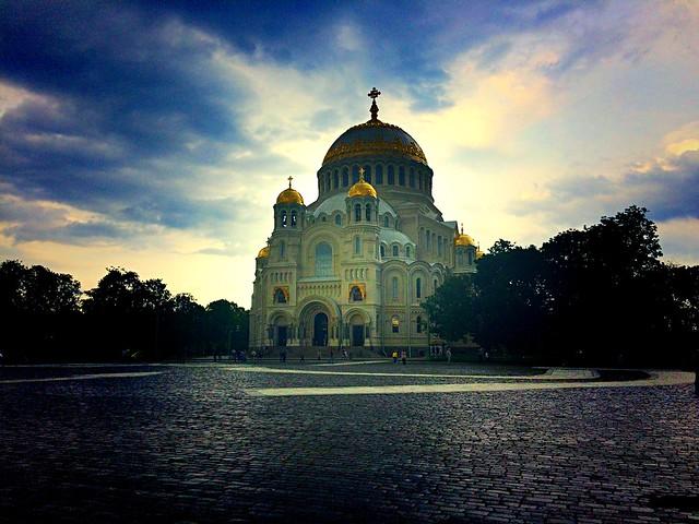 Naval cathedral of St. Nicholas in Kronstadt, Kotlin Island | SPB | Russia | # III