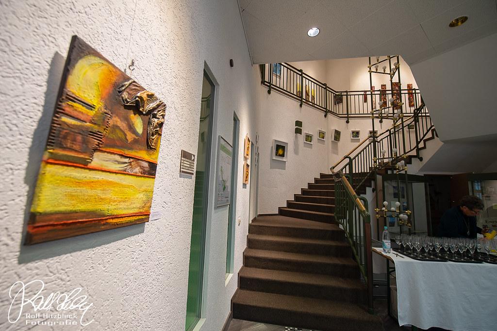 Ausstellungsräume mit Werken von Adriane Skunca