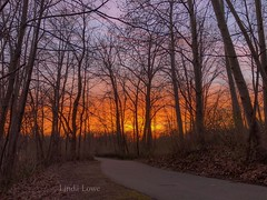 Sunset at Veterans Park on 4/12/19