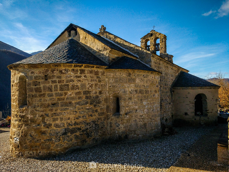 Iglesia románica de Sainte-Marthe de Vernaux
