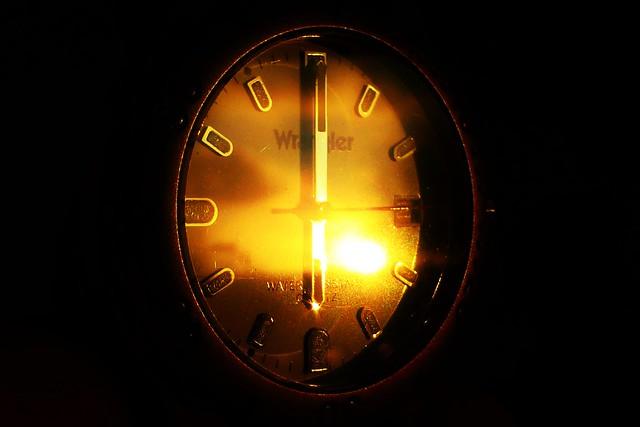 Sunrise o'clock..x
