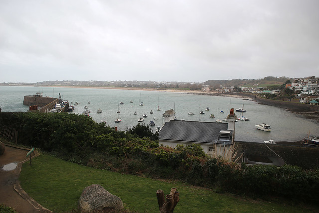 The Royal Bay of Grouville from Gorey