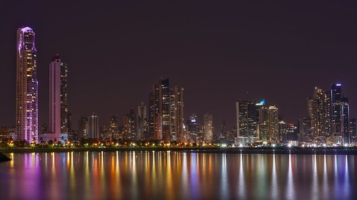 50mm city longexposure night photography cityscape urban ilcea7m2 sunset panama