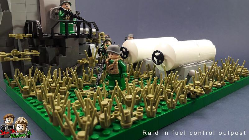[Great Brick War - Adamson (γιος Adam)] - Raid in Fuel Control Outpost 47447820591_2ce4b8cc39_c