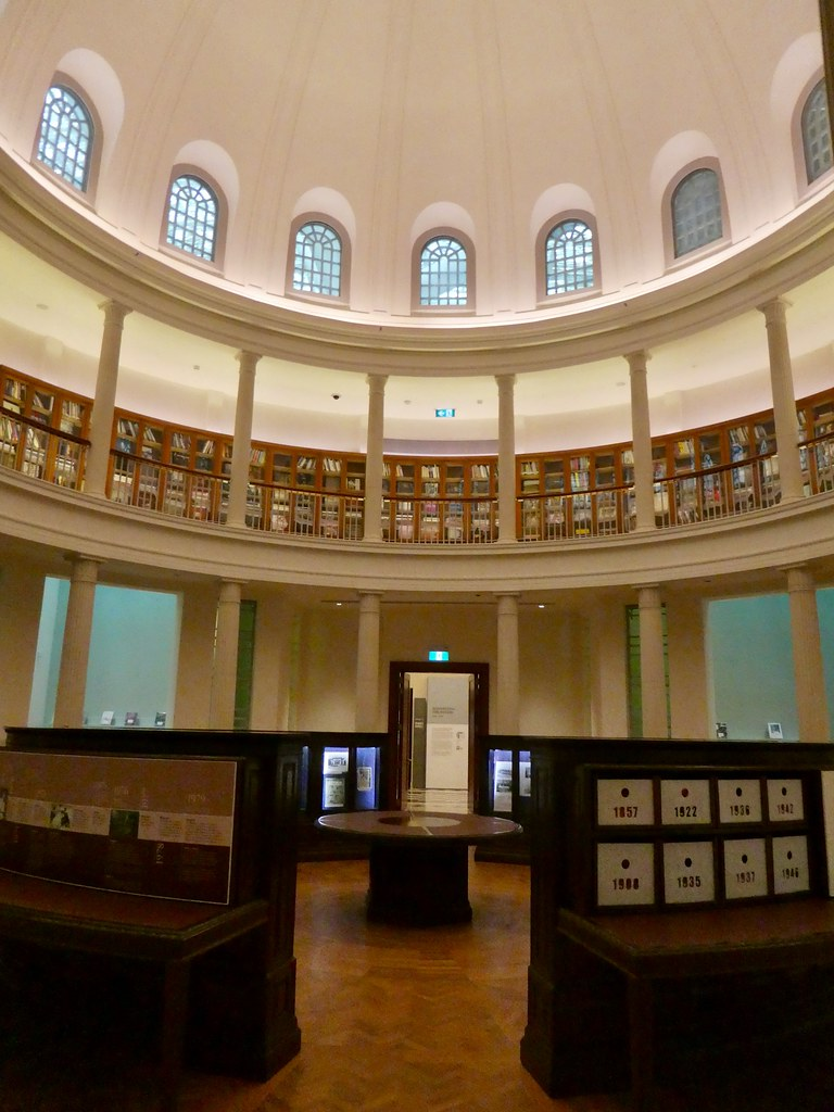 The Circular Law Library, Supreme Court Wing, National Gallery of Singapore