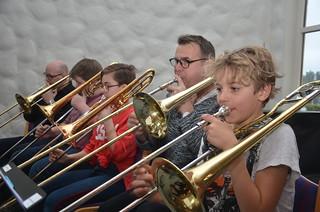 Tromboner i Framåt Brassband 2
