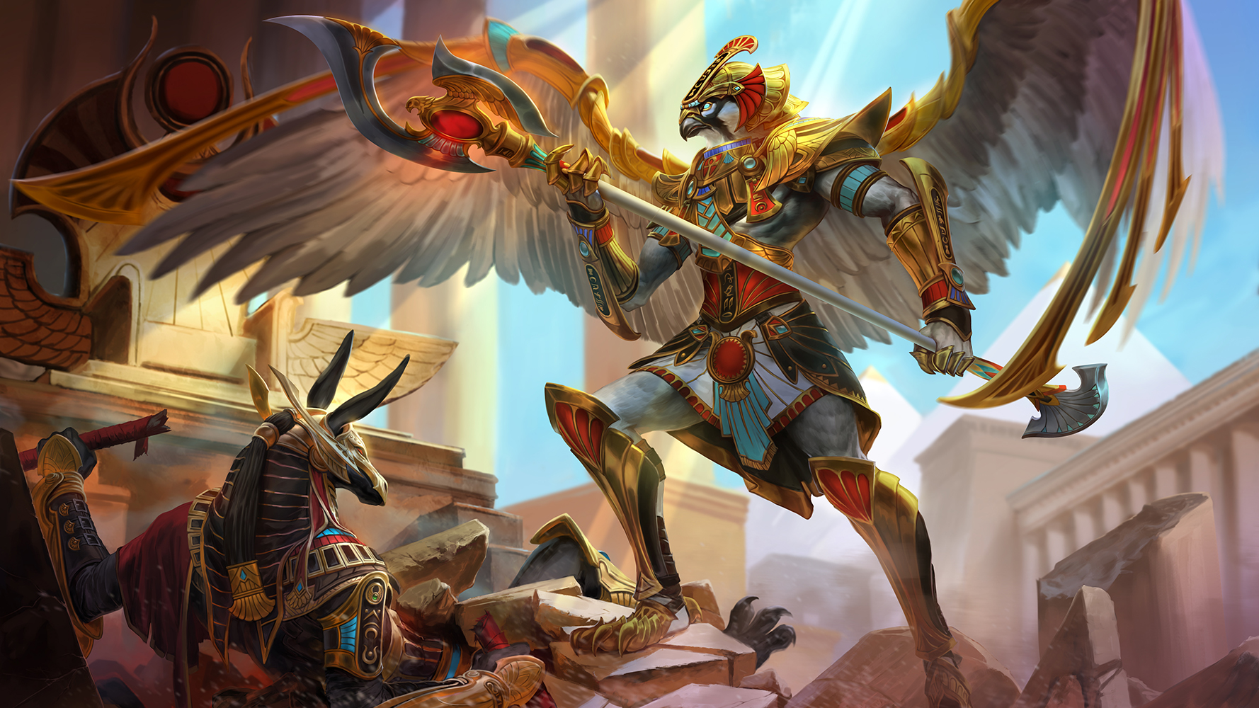 Exclusive Reveal: Smite Launches Two New Gods April 30
