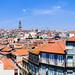 Vista desde la Catedral de Oporto. Panoramic view from Oporto Cathedral. La Sé de Porto