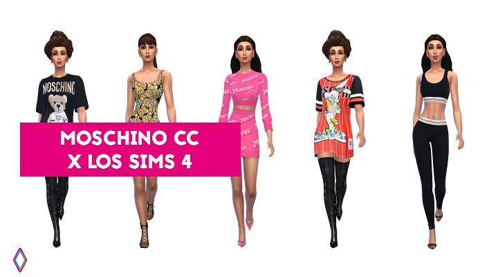 Los Sims 4: El mejor CC de Moschino