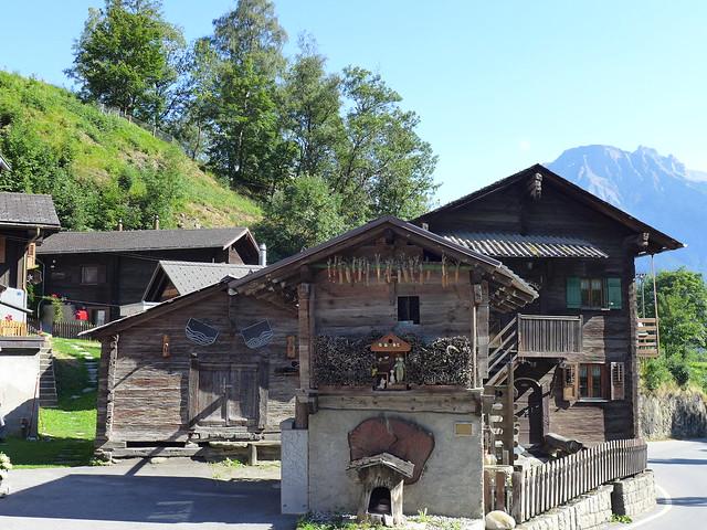 Richtung Blatten im Kanton Wallis