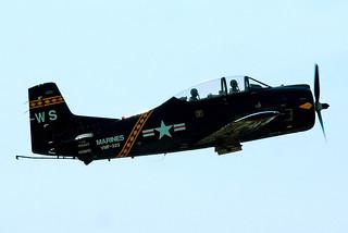 N528TC   (146253) North American T-28C Trojan [252-16] (Ex United States Navy) Oshkosh-Wittman Regional~N 29/07/2008