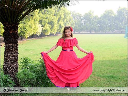 Kid Model eCommerce Fashion Photography in Delhi India | by Surinder Singh, Delhi, India SinghStyleStudio.com