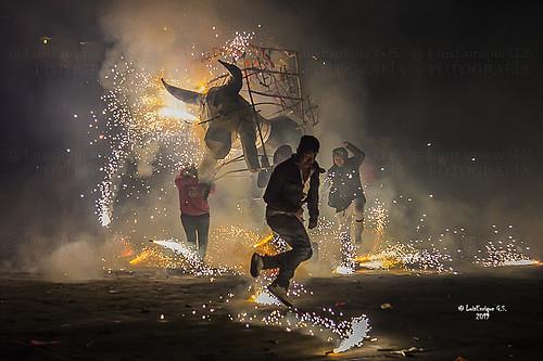 Toritos Pirotecnia - San Cristóbal Tepontla - Cholula - Puebla - México