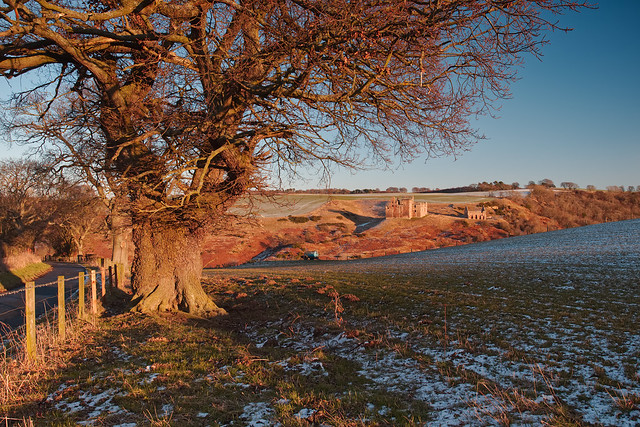 Crichton Castle Sunset