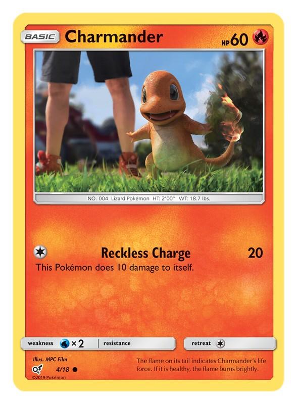 Pokémon TCG Detective Pikachu_Charmander