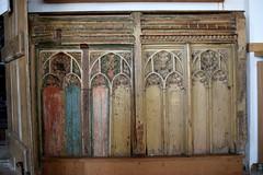 rood screen dado (15th Century)