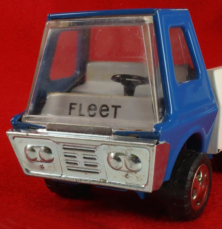 RD26760 Very Rare Fleet Truck CK Kuramochi & Co. , LTD. Japan Blue Cab White Bed DSC09041