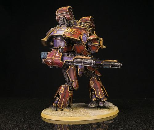 Legio Vulpa Warlord Titan   by Jay Adan