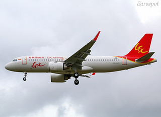 F-WWIU Airbus A320 Neo GX Airlines | by @Eurospot