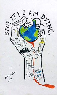 Aniruddha Aloke, 13 years old, India, Save the environment