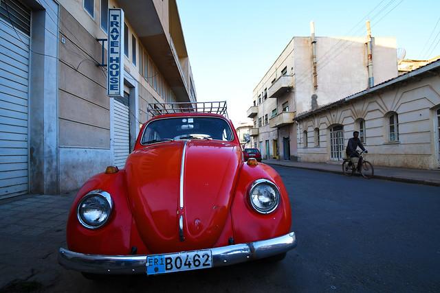 Volkswagen Beetle in Asmara / Eritrea