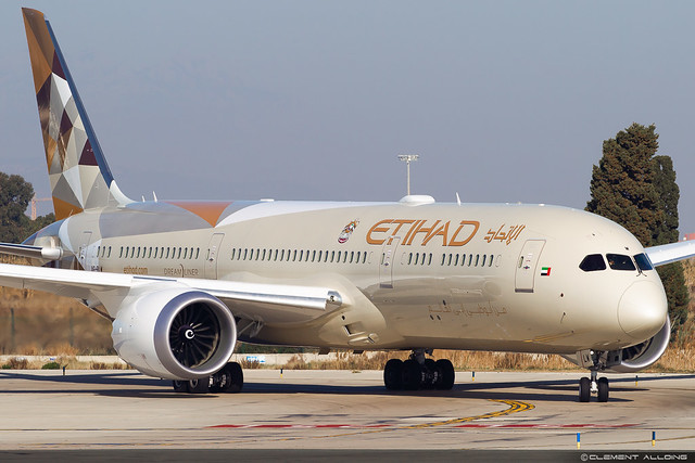 Etihad Airways Boeing 787-9 Dreamliner cn 39666 / 793  A6-BLW