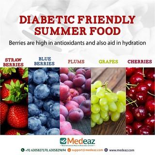 Diabetics Summer food