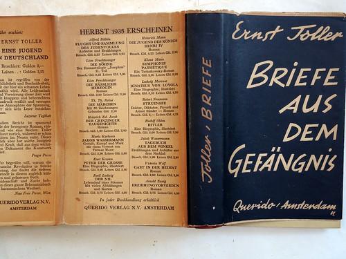 Briefe aus dem Gefängnis Querido, Amsterdam, 1935.
