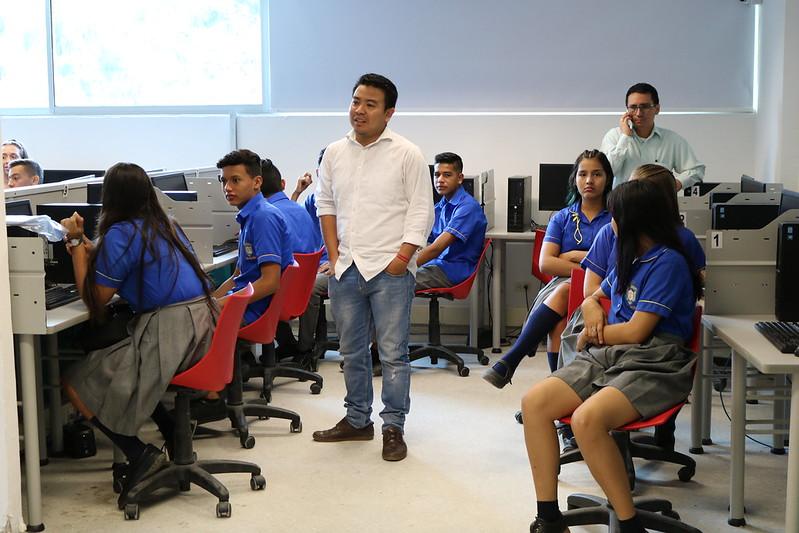 Estudiantes de la Fortalecillas motivados para ingresar a la USCO